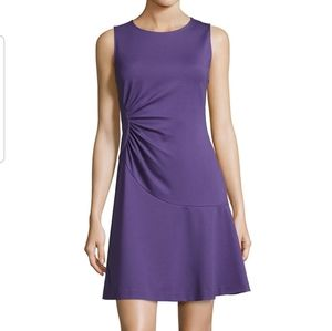 DVF | Dayna Ruched Fit and Flare A Line Dress